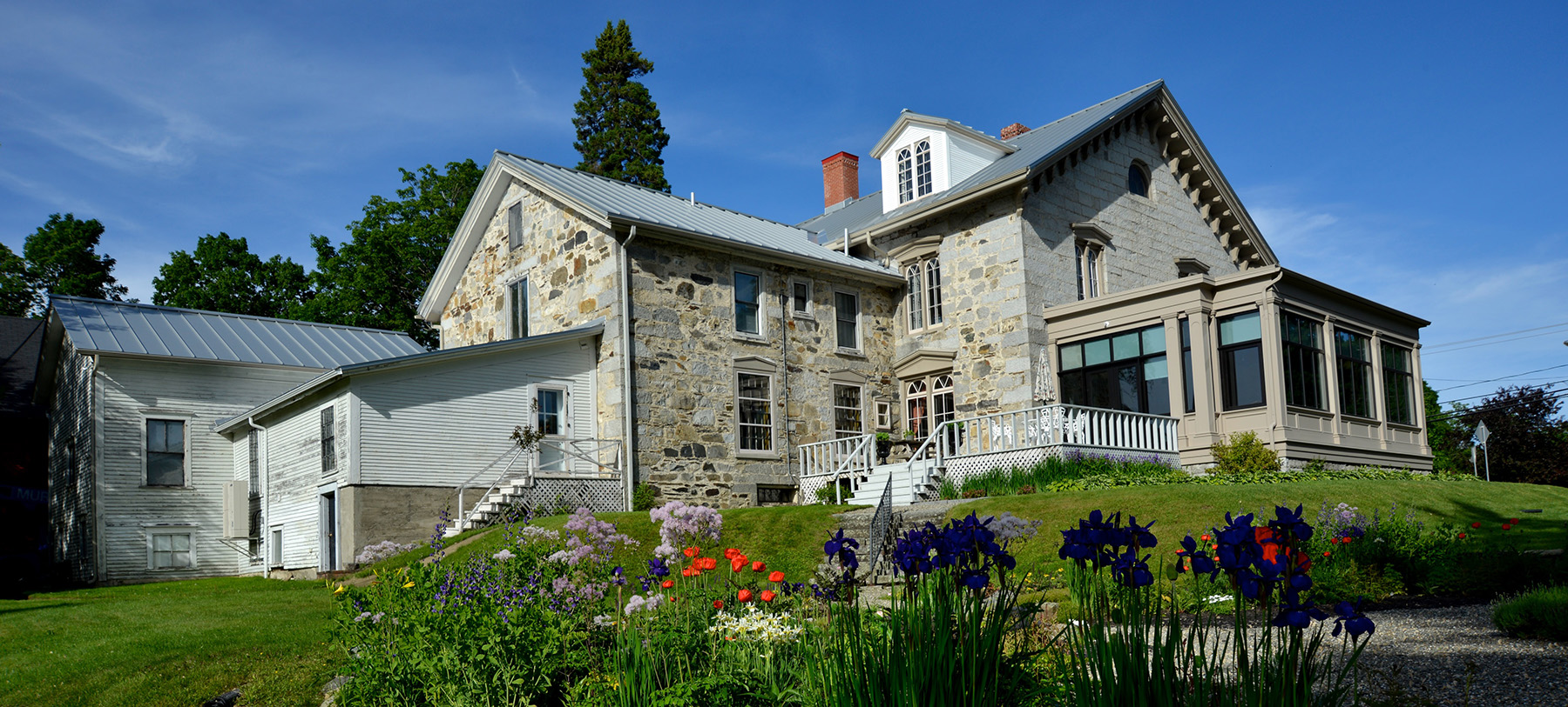 Exterior Colby Curtis Museum