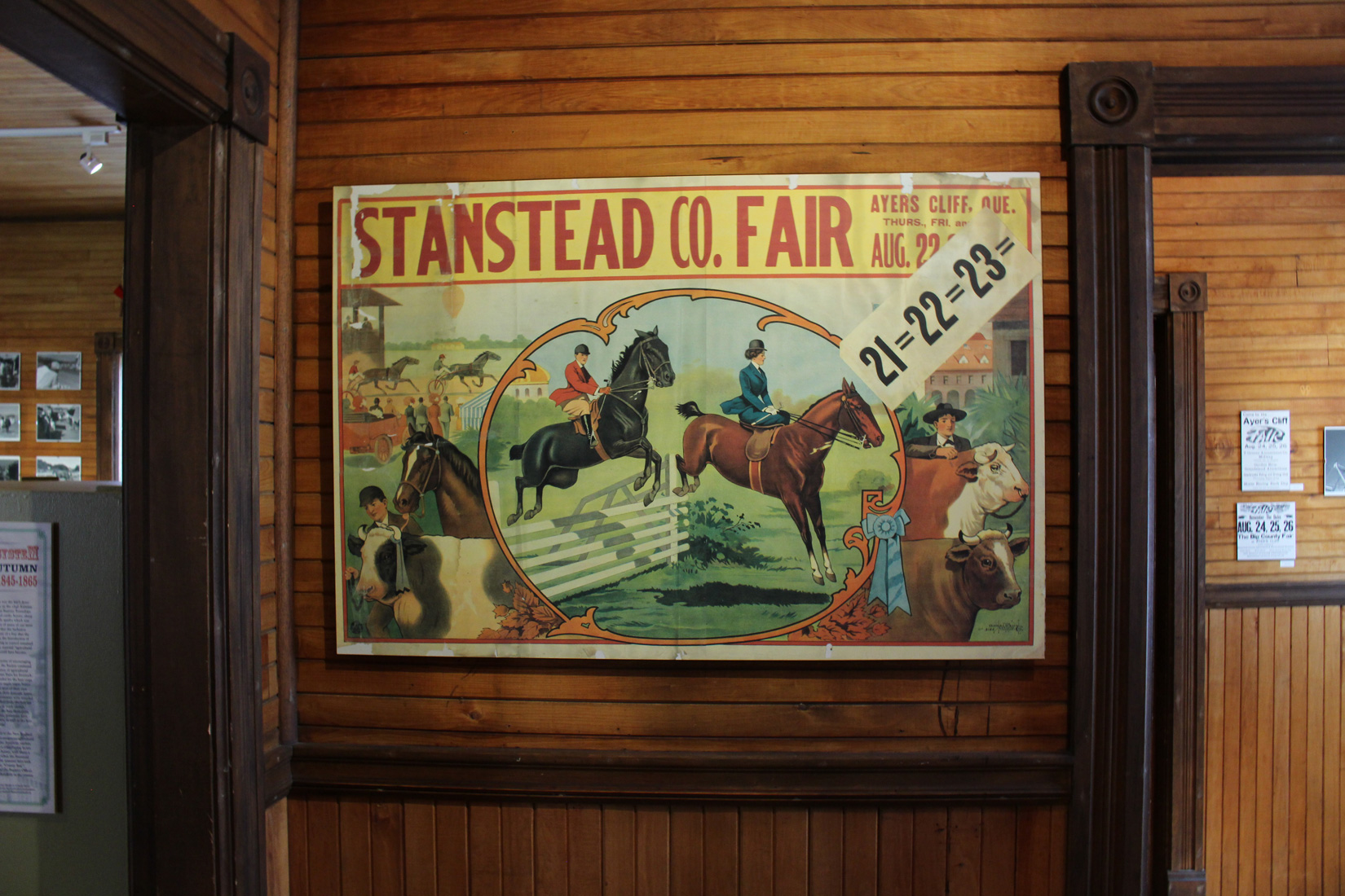 Agricultural Fairs in Stanstead County: Innovations and Popular Culture