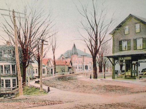 Comme si vous y étiez: cartes postales des villes et villages du comté de Stanstead